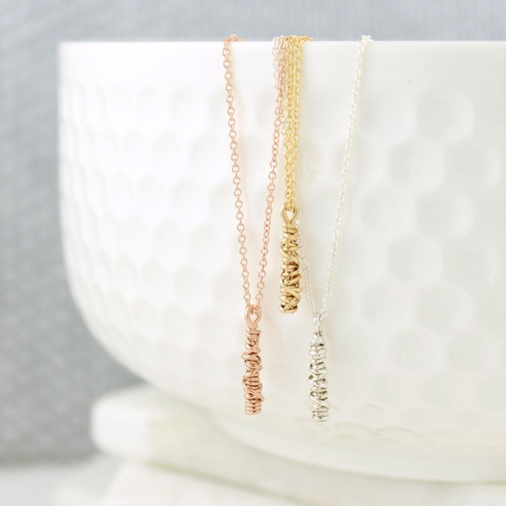 The 20/20 Small Necklace | Magpie Jewellery | Rose Gold | Yellow Gold | Silver | Listed Left-to-Right