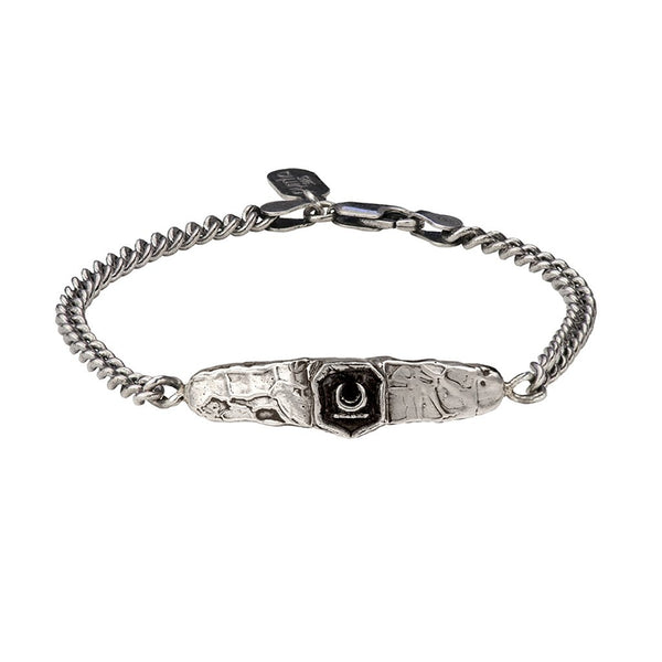 New Beginnings Bar Bracelet Silver | Magpie Jewellery