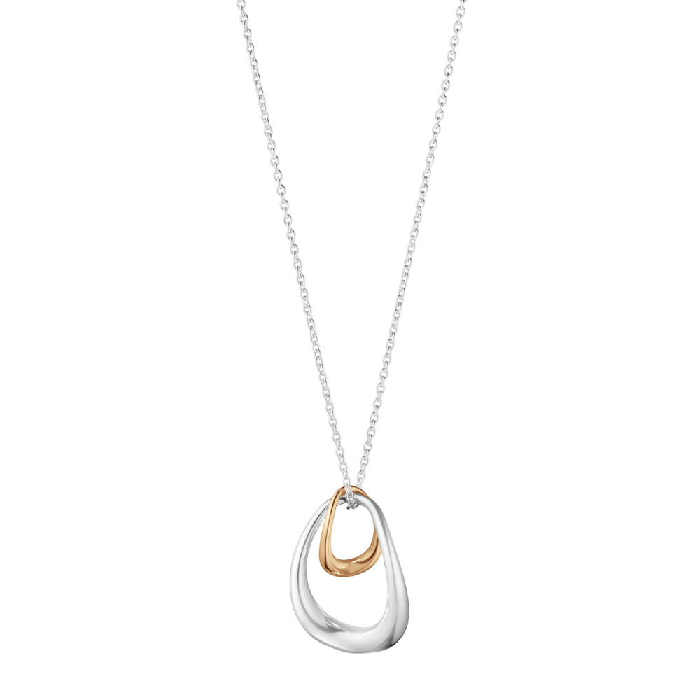 Offspring 18K Gold and Silver Necklace