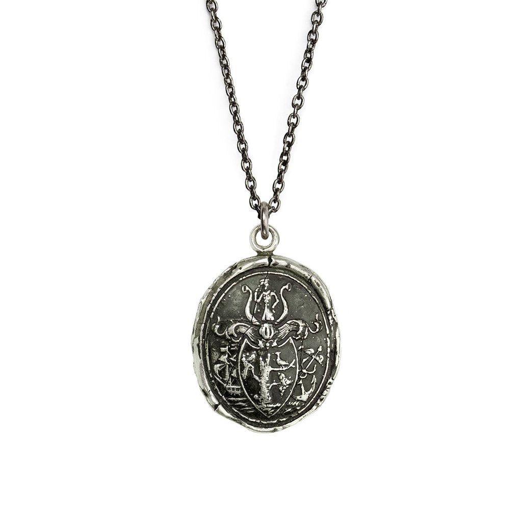 Adventure Talisman Silver Medium Cable Chain | Magpie Jewellery
