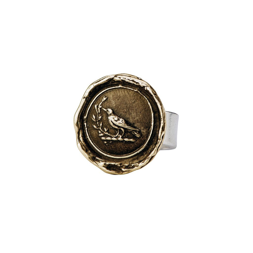Creativity Ring Bronze | Magpie Jewellery