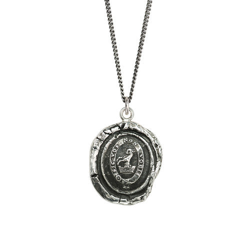 Devoted Father Talisman Silver | Magpie Jewellery