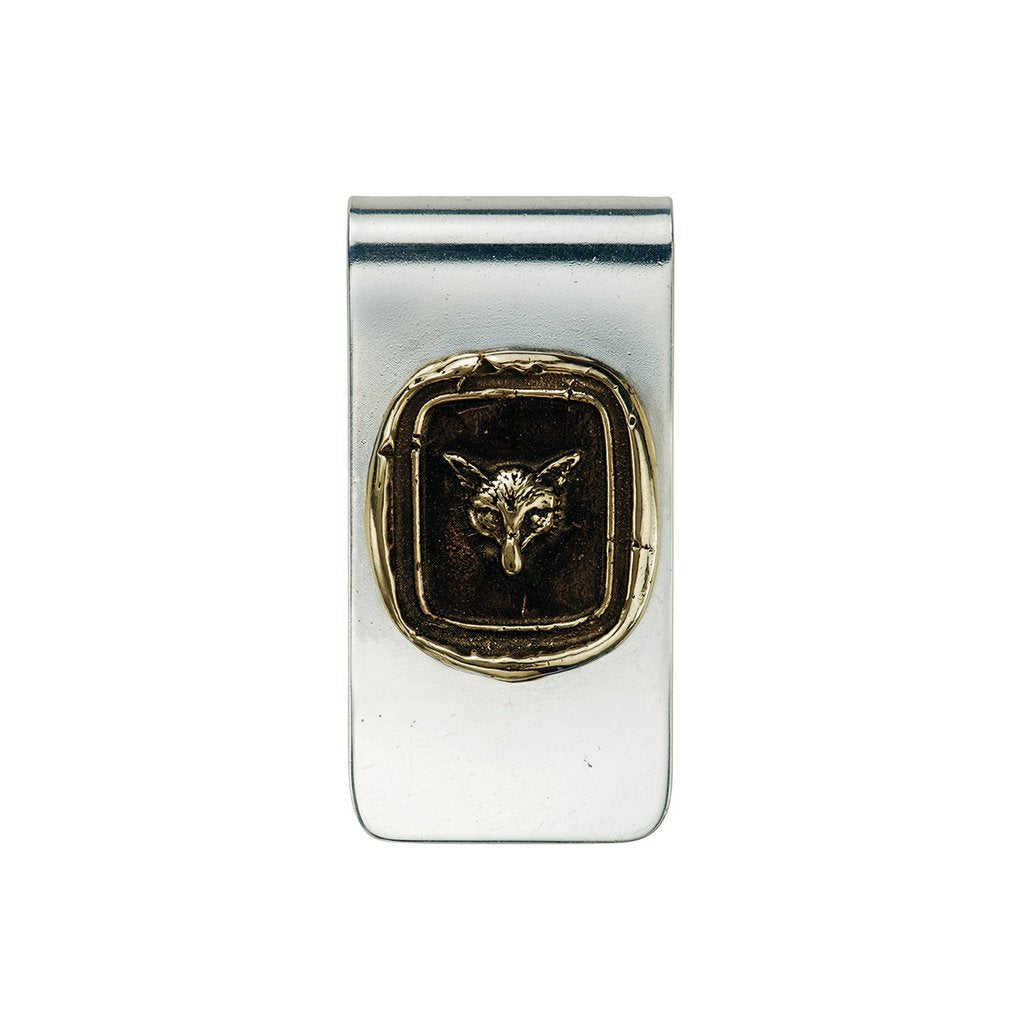 Fox Money Clip Bronze | Magpie Jewellery