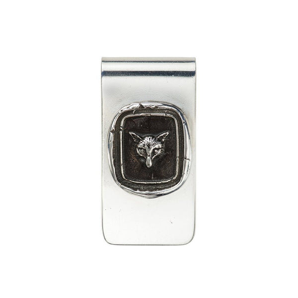 Fox Money Clip Silver | Magpie Jewellery