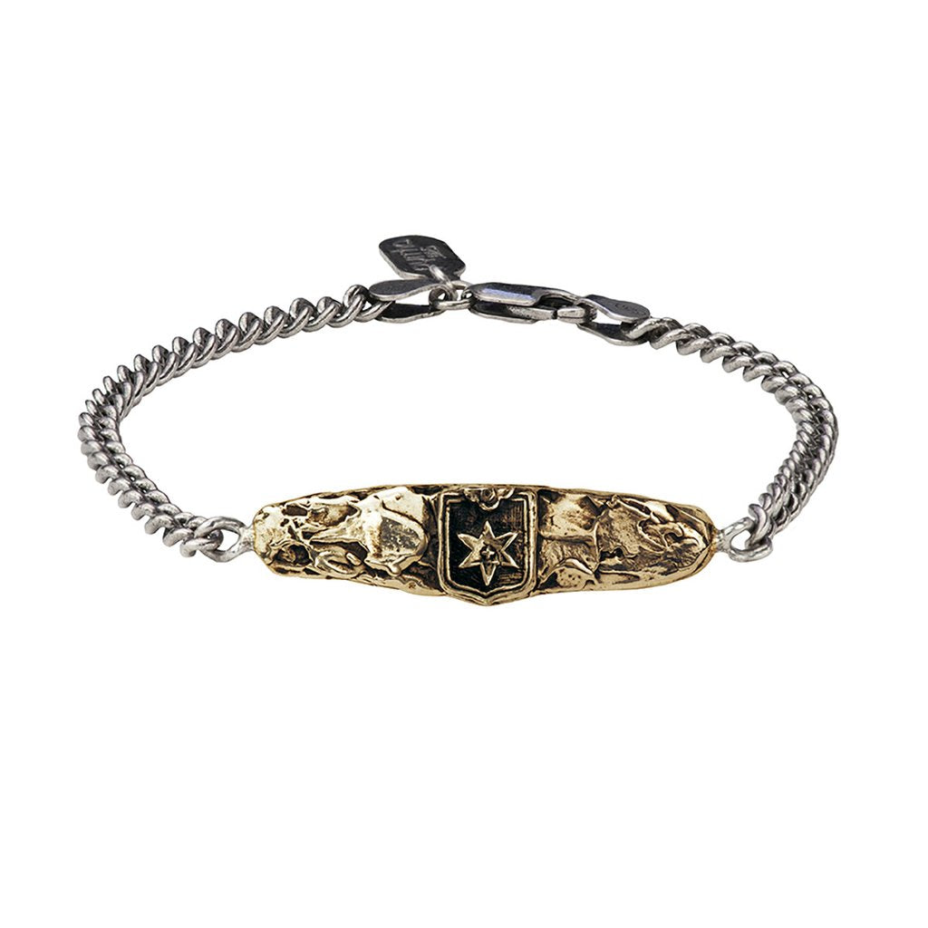 Look Within Bar Bracelet Bronze | Magpie Jewellery