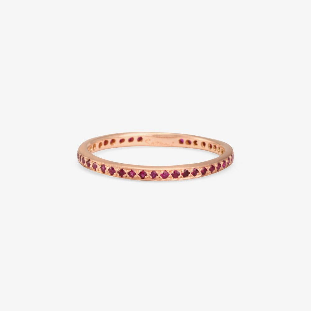 Ruby Eternity Band RG | Magpie Jewellery
