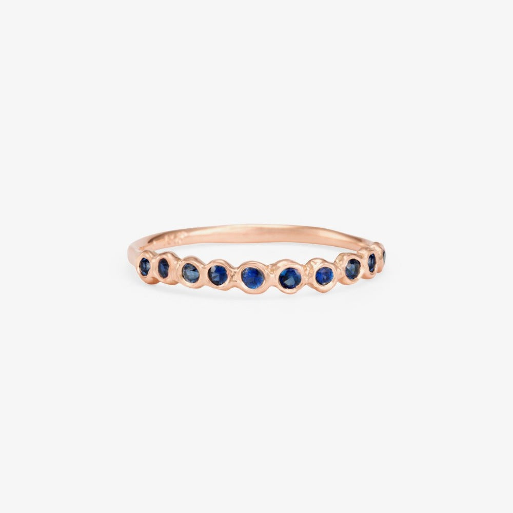 Sapphire Sweet Ten Band WG | Magpie Jewellery