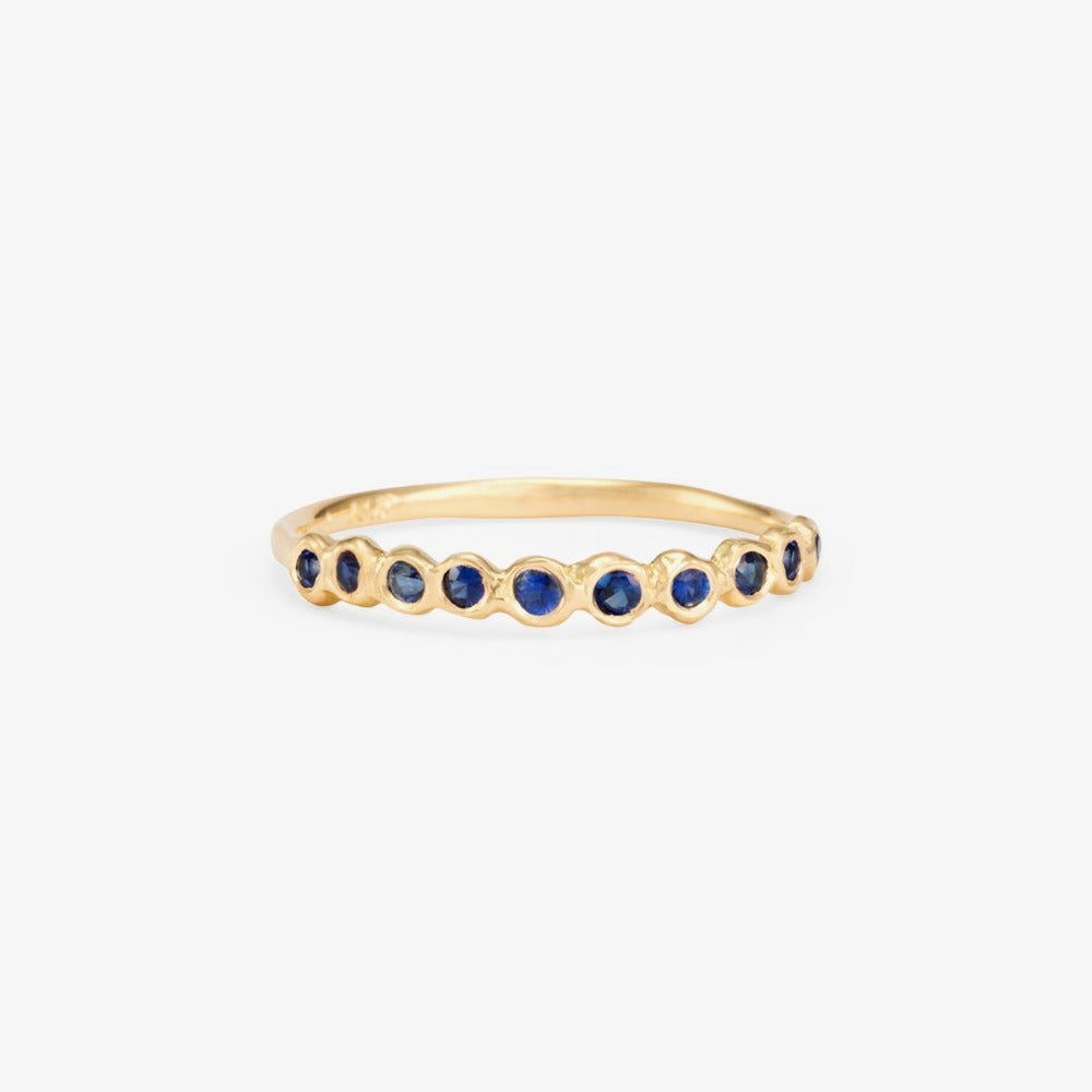 Sapphire Sweet Ten Band YG | Magpie Jewellery
