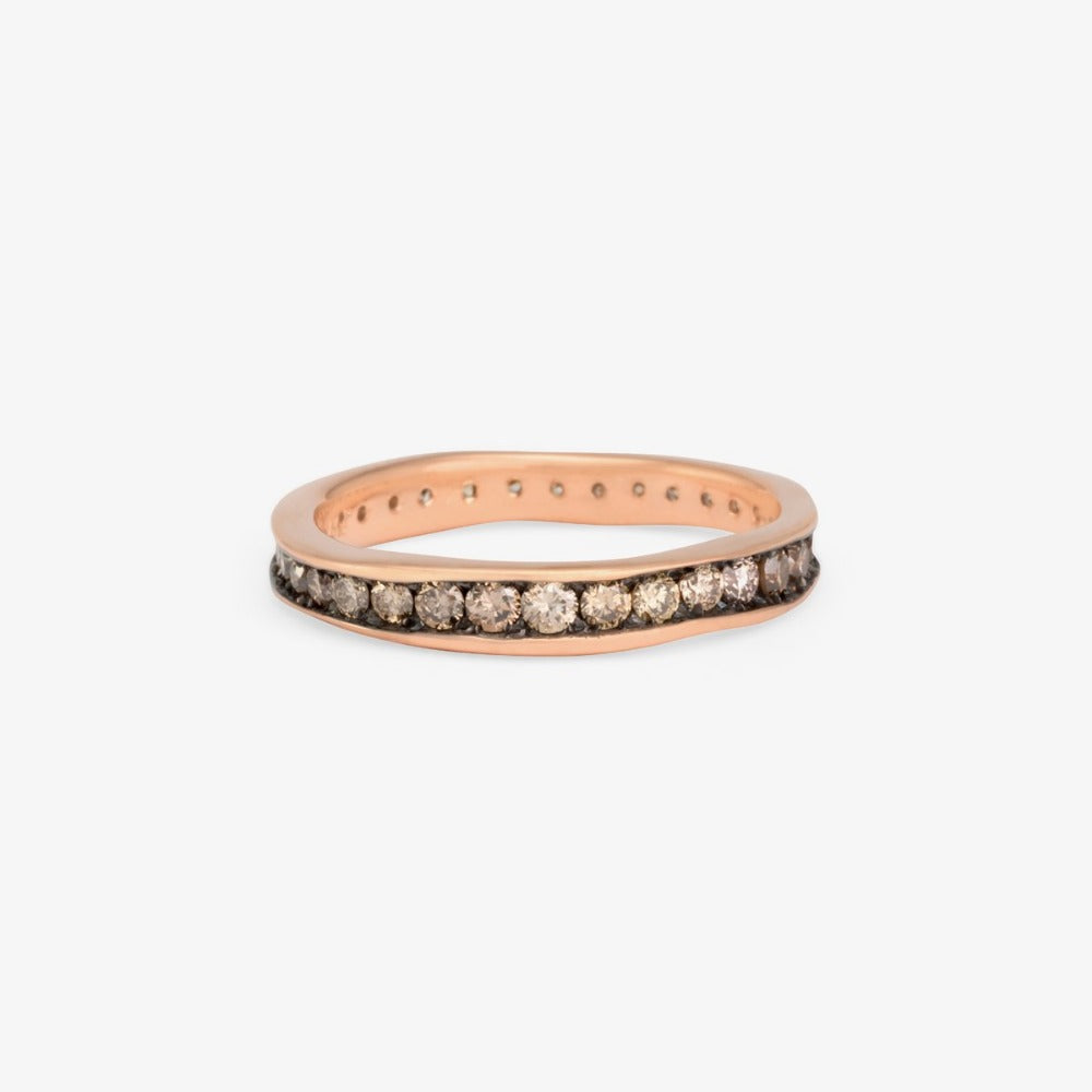 Brown Diamond Absolute Band RG | Magpie Jewellery