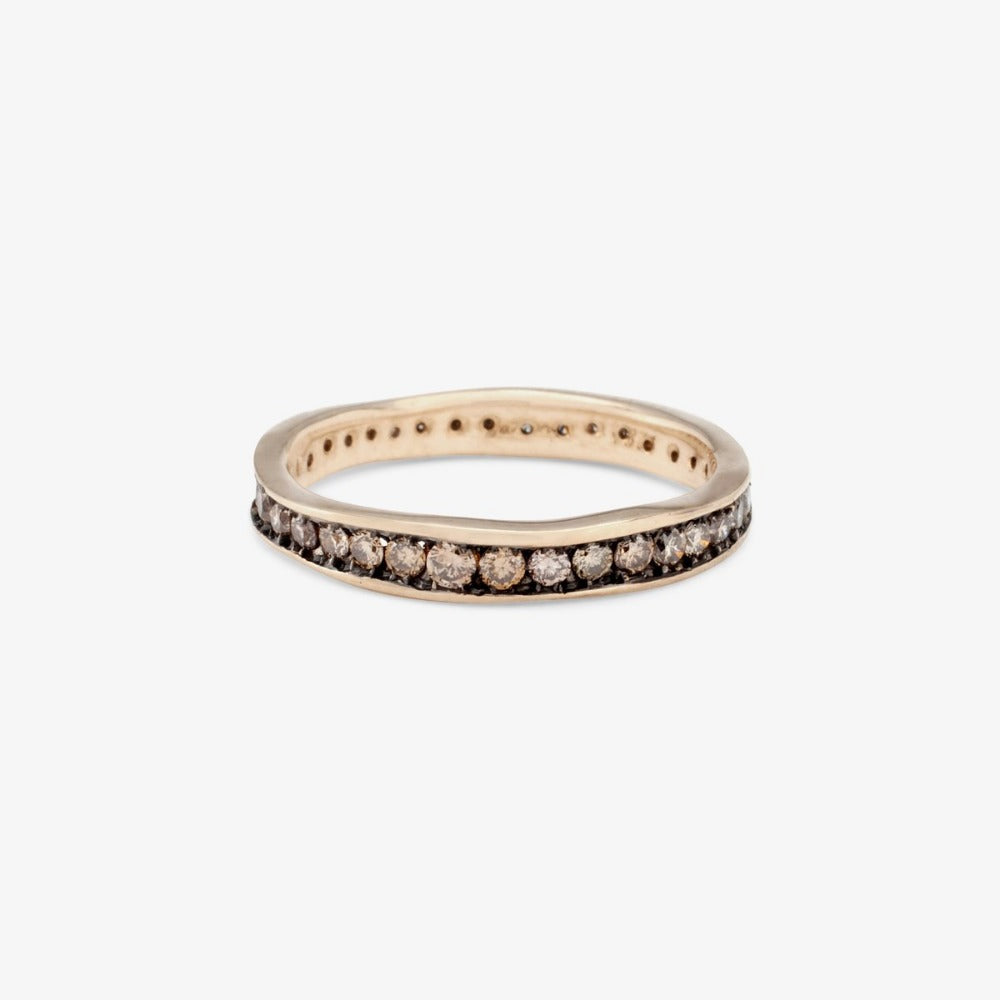 Brown Diamond Absolute Band WG | Magpie Jewellery
