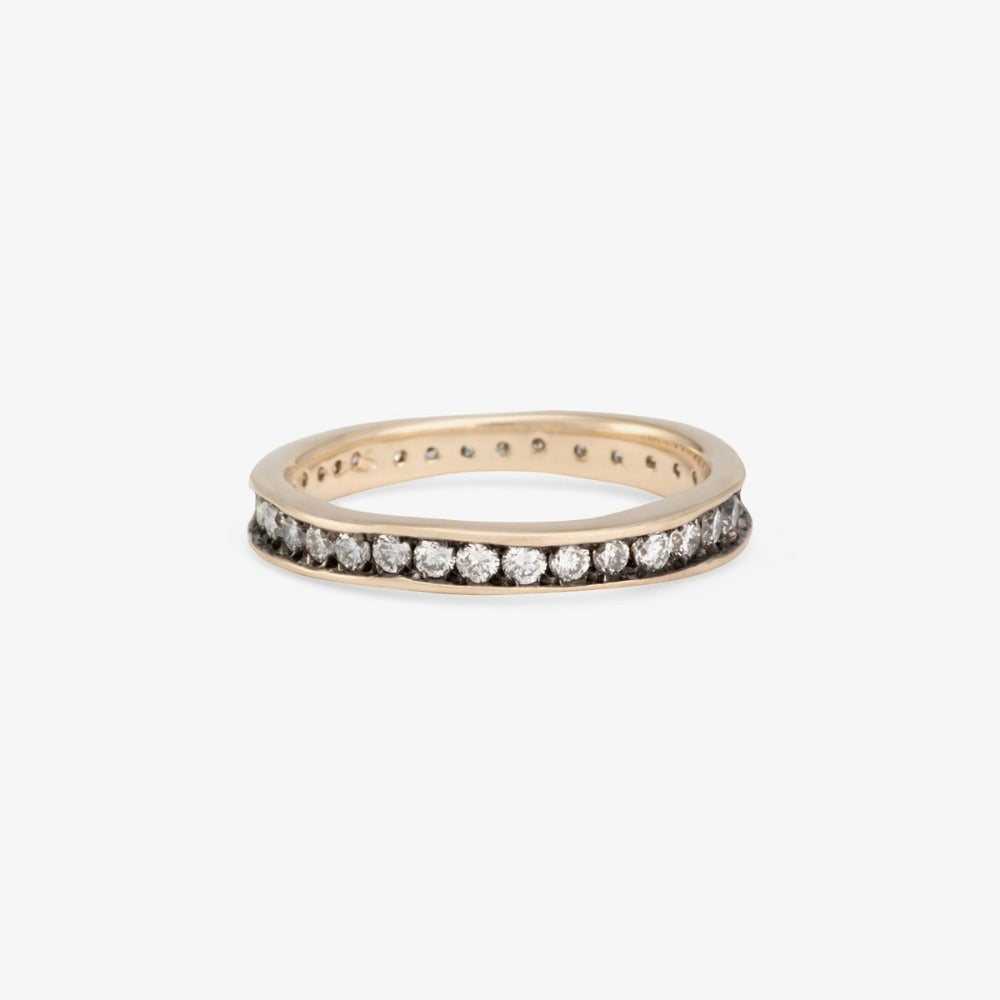 White Diamond Absolute Band WG | Magpie Jewellery