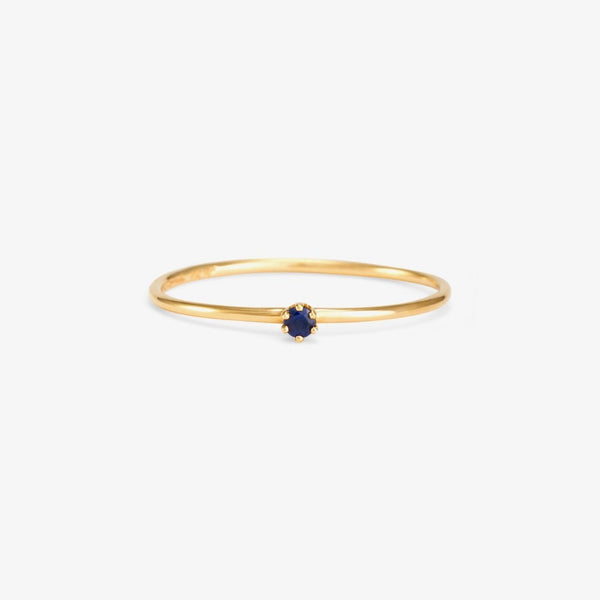 Baby Sapphire in Blue Birthstone Ring (September) | Magpie Jewellery