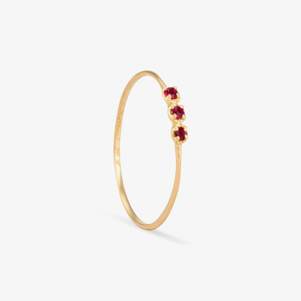 Orion Ruby Gemstone Ring | Magpie Jewellery
