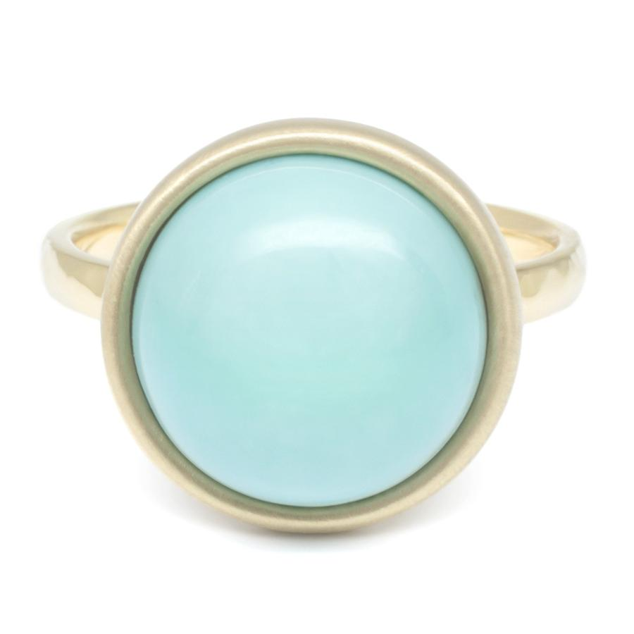 Turquoise Cabochon Ring | Magpie Jewellery