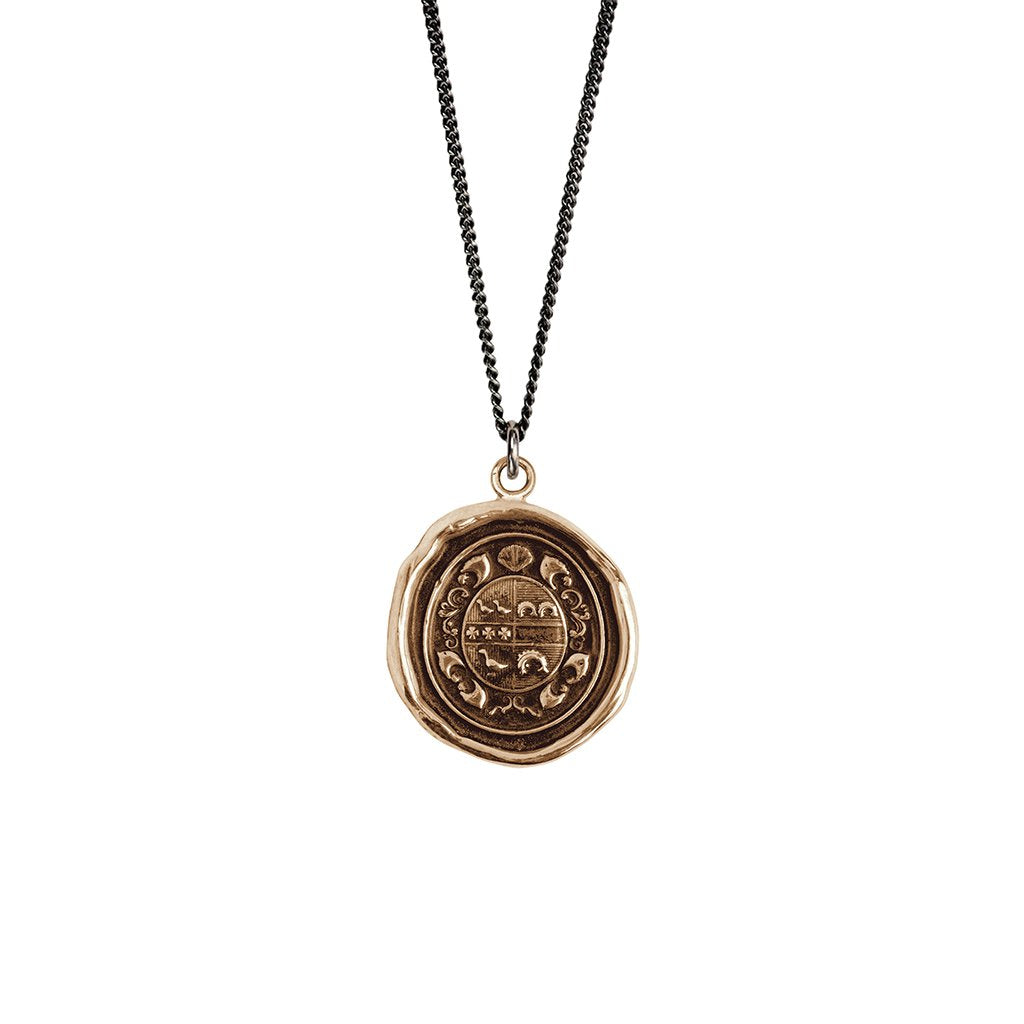 Safe Journey Talisman Necklace Bronze | Magpie Jewellery