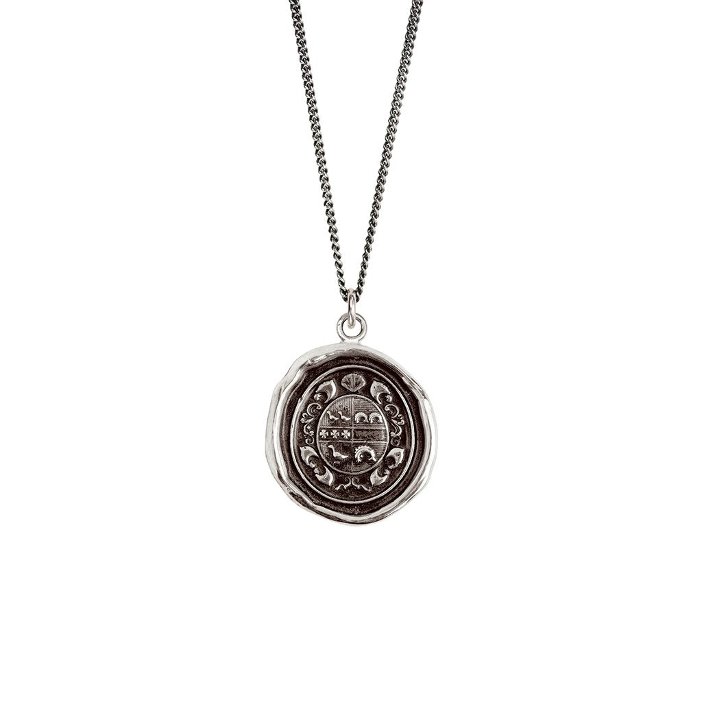 Safe Journey Talisman Necklace Silver | Magpie Jewellery