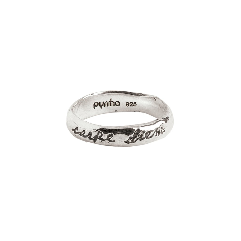 Seize The Day Poesy Ring