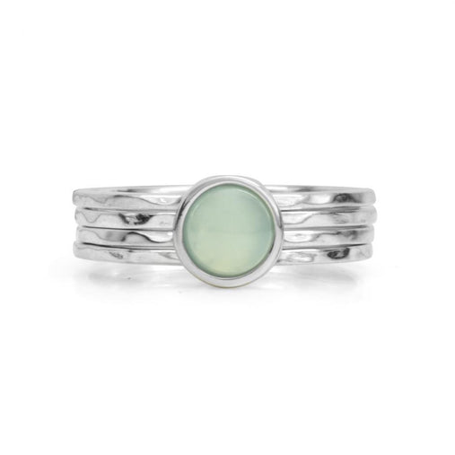Still Ring - Blue Chalcedony | Magpie Jewellery