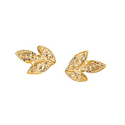 Three Leaf Studs | Magpie Jewellery