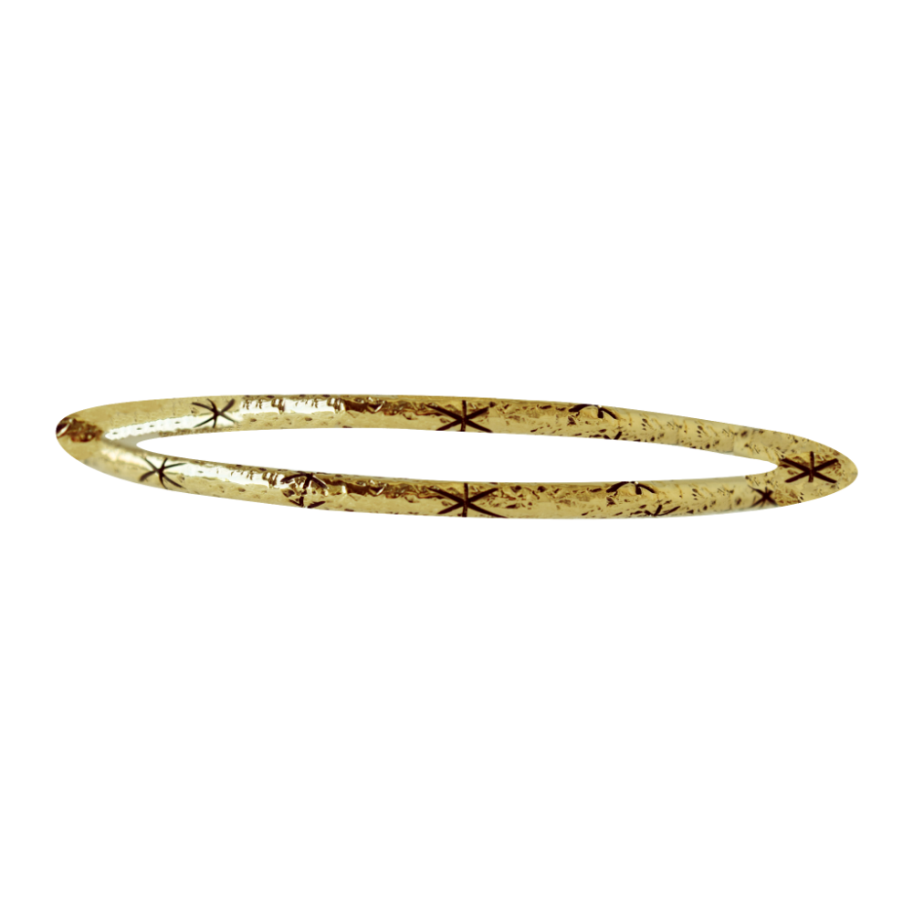 Starlit Sky Bangle | Magpie Jewellery-Brass