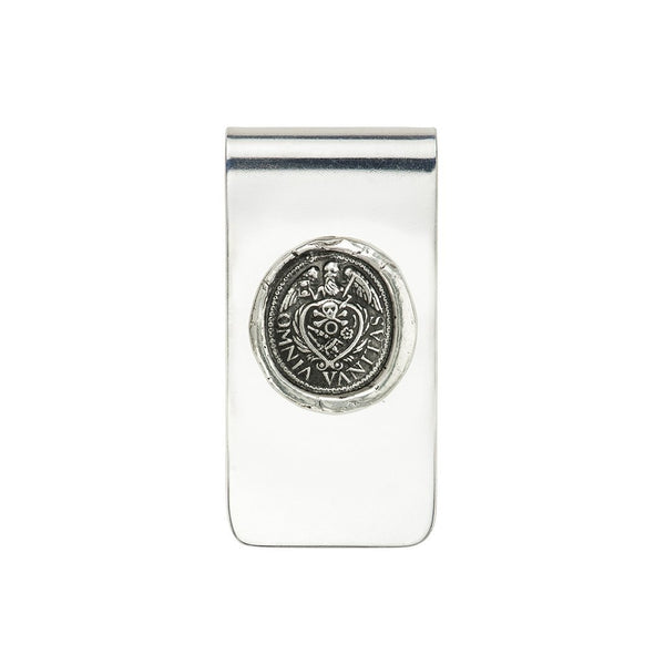 All is Vanity Money Clip Silver | Magpie Jewellery