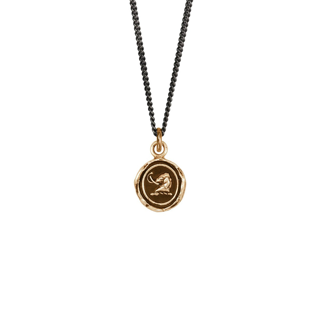 Affectionate Appreciation Talisman Bronze | Magpie Jewellery