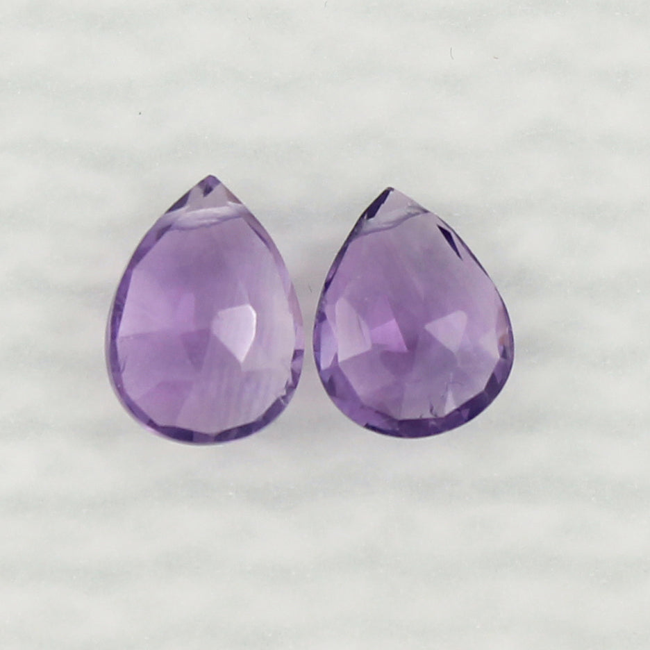 Gemstone Solo Earring | Magpie Jewellery | Amethyst | Faceted