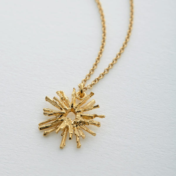 Nest Structure Circle Necklace