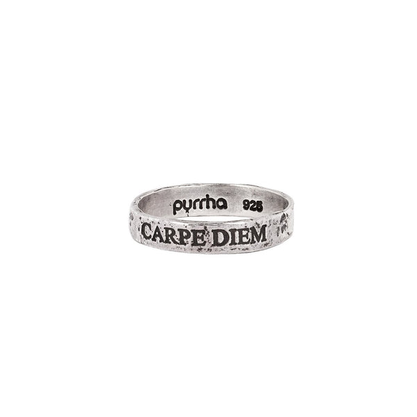 Carpe Diem (Seize the Day) Band Ring