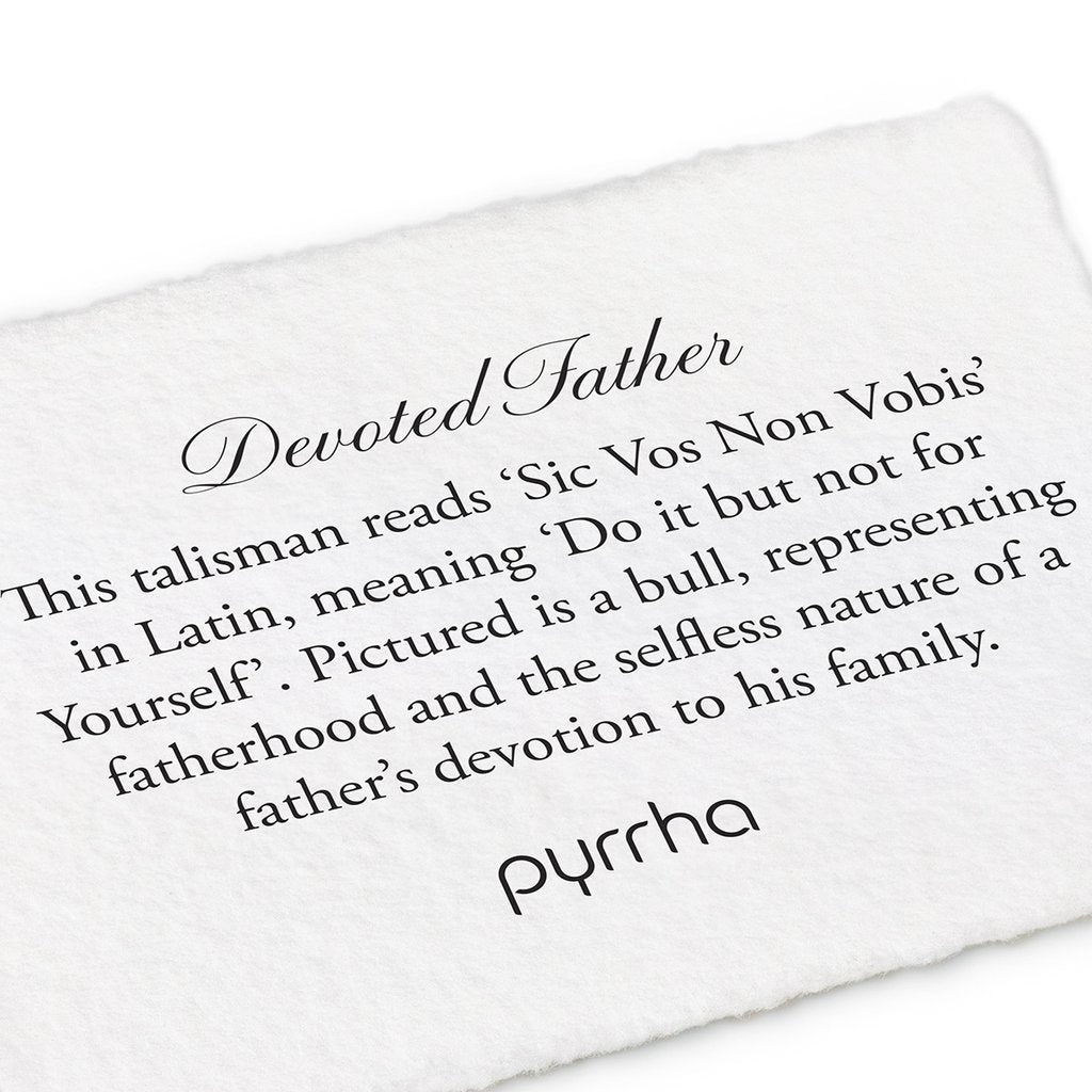 Devoted Father Key Chain | Magpie Jewellery
