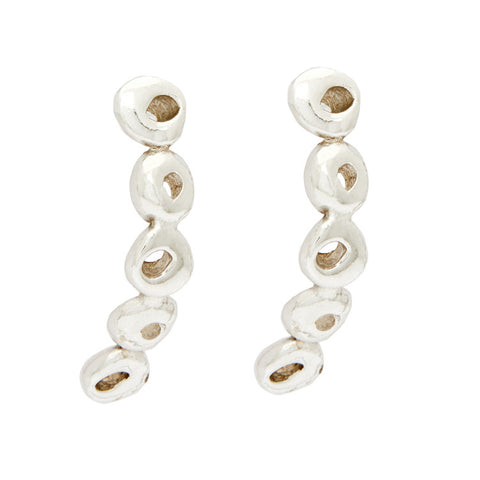 Five Dot Curve Earring