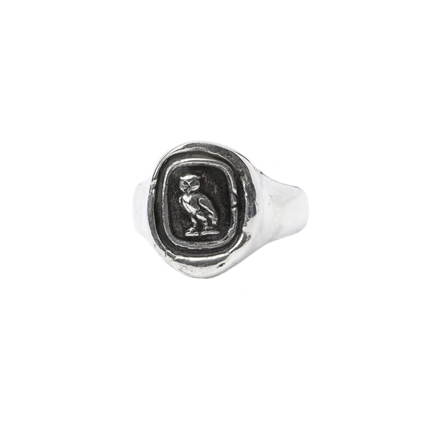 Watch Over Me Signet Ring | Magpie Jewellery