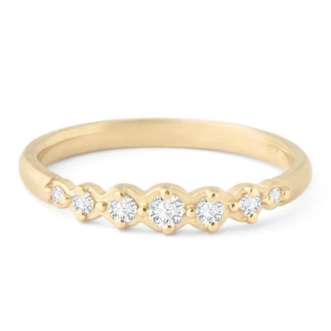 Diamond Festival Stacking Ring