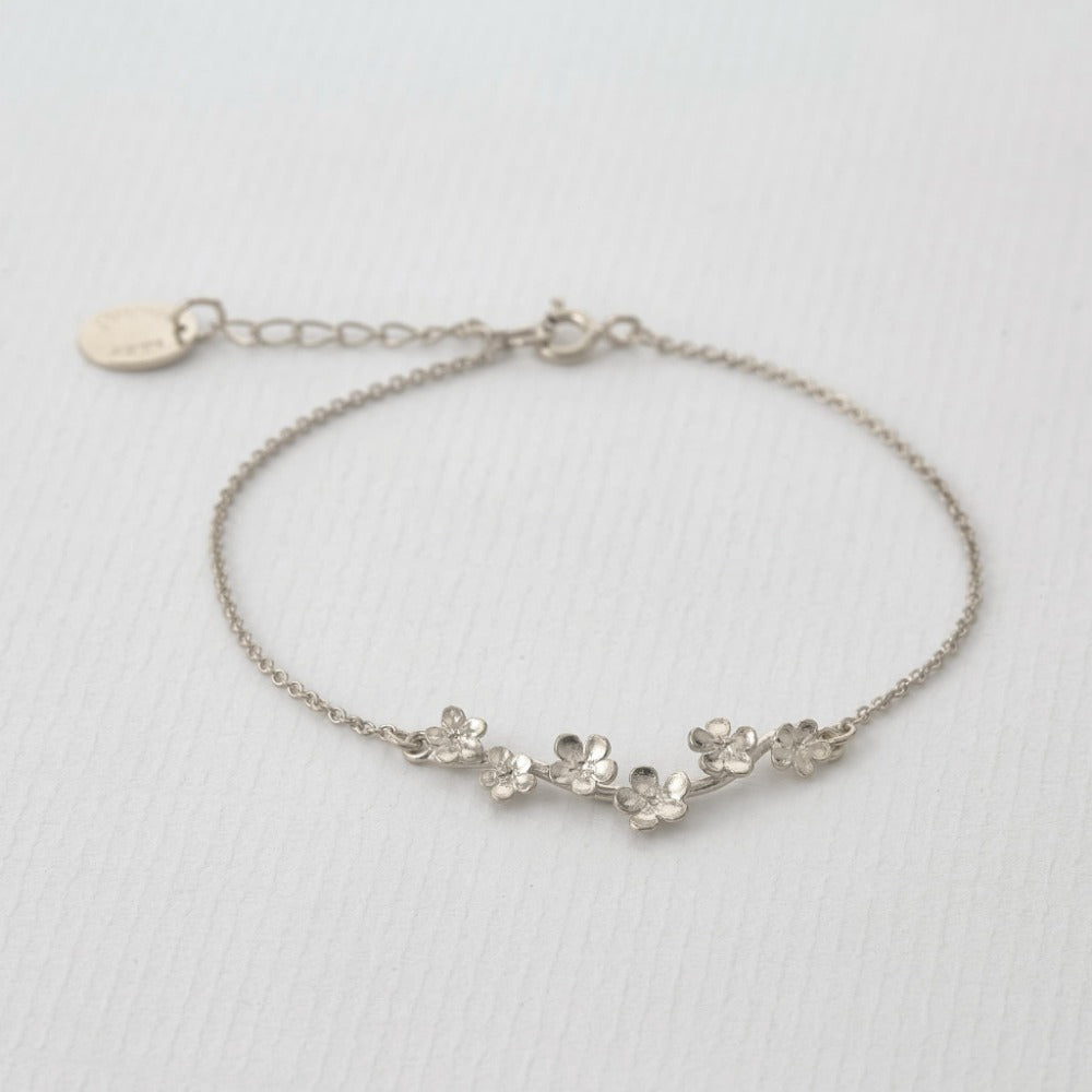 Forget Me Not Bracelet | Magpie Jewellery Silver