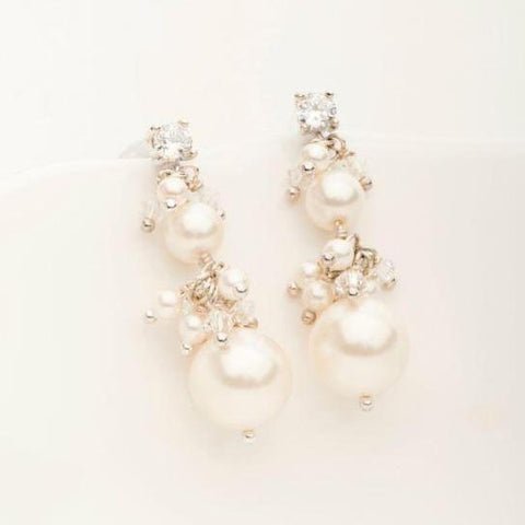 Two-Tier Elizabeth Earring