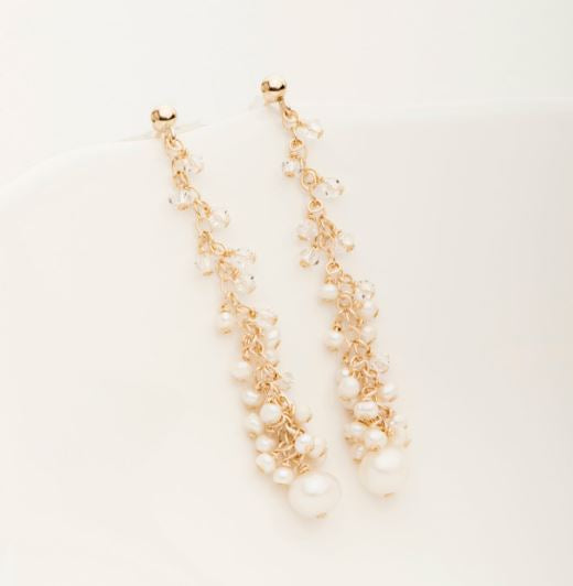 Mini Icicle Cha Cha Earring Gold Fill | Magpie Jewellery