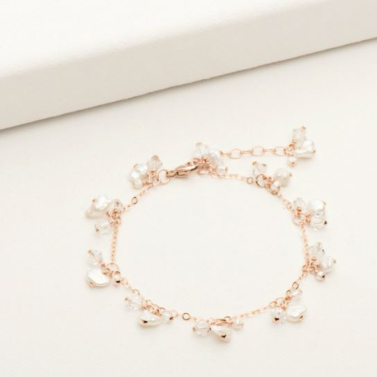 Spring Blossom Bracelet Rose Gold Fill | Magpie Jewellery
