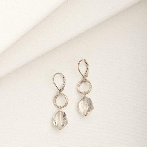 Ashley Earring in Crystal