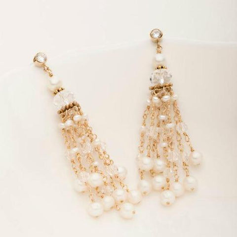 Sophia Tassel Earring 14kt gold filled