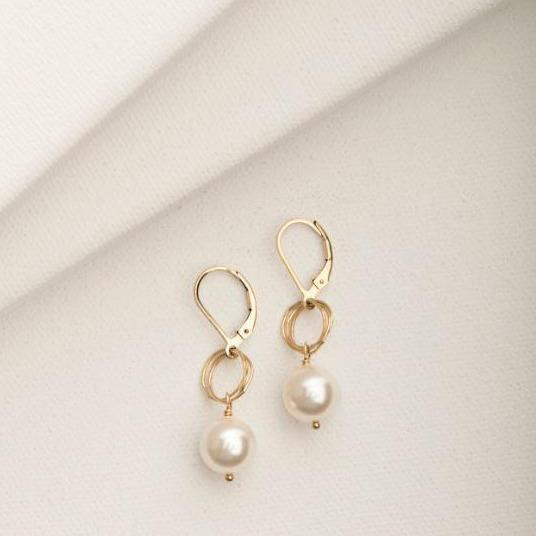 Ashley Earring Gold Fill | Magpie Jewellery
