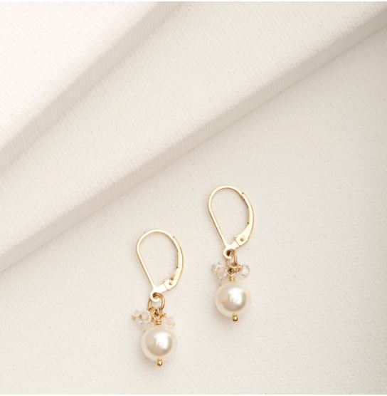 Mini Cluster Earrings Gold | Magpie Jewellery