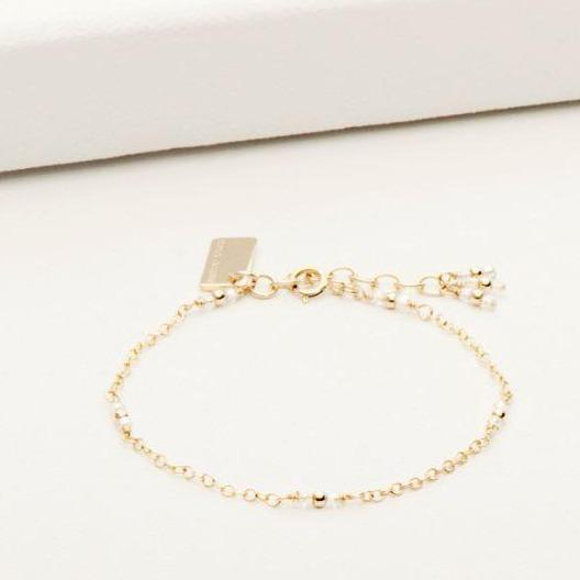 Crystal Staccato Bracelet Goldfill | Magpie Jewellery