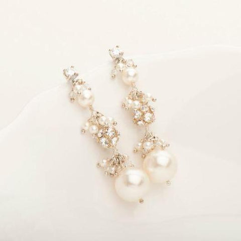 Three-Tier Elizabeth Earring