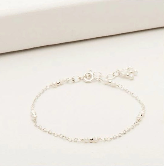 Staccato Bracelet w/ Petite Pearls