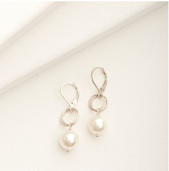 Ashley Earring Silver | Magpie Jewellery