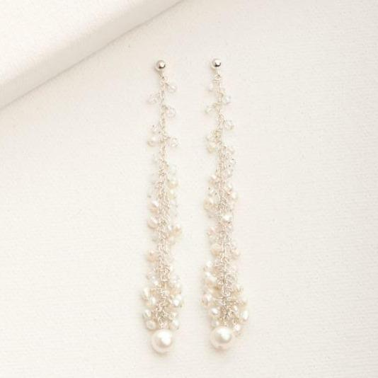 Mini Icicle Cha Cha Earring Silver | Magpie Jewellery