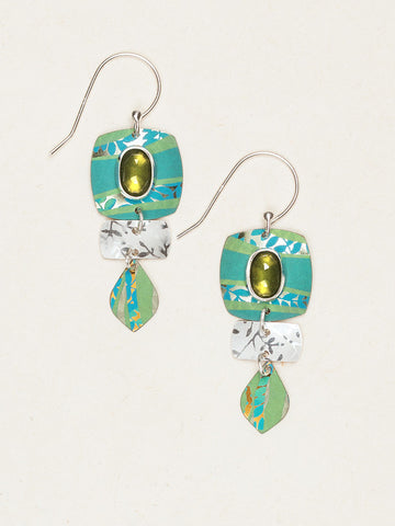 Pure Harmony Earrings - Green