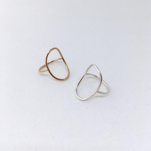 Open Circle Ring | Magpie Jewellery