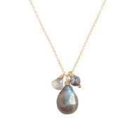 Isabel Labradorite Necklace