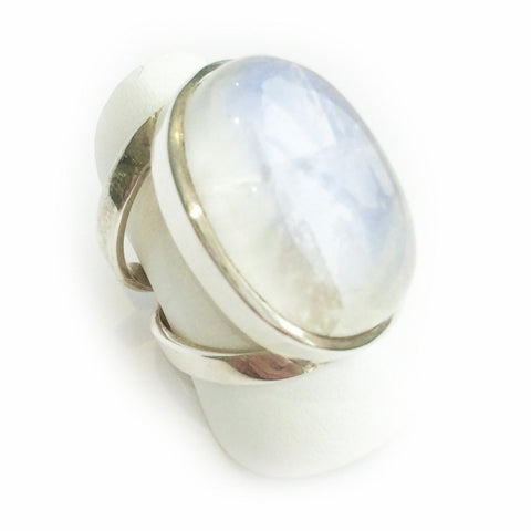 Large Oval Moonstone Ring